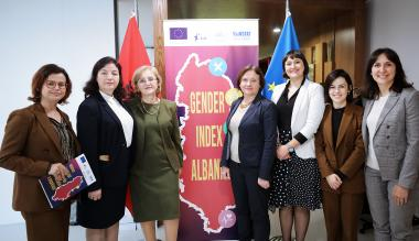 The launch of Albania's Gender Equality Index