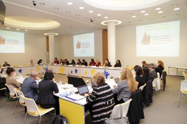 EIGE anti-trafficking meeting