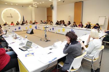EIGE anti-trafficking meeting